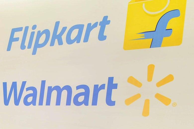 Walmart bought a 77 percent stake in Flipkart for $16 billion.