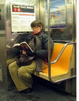 The subway reader