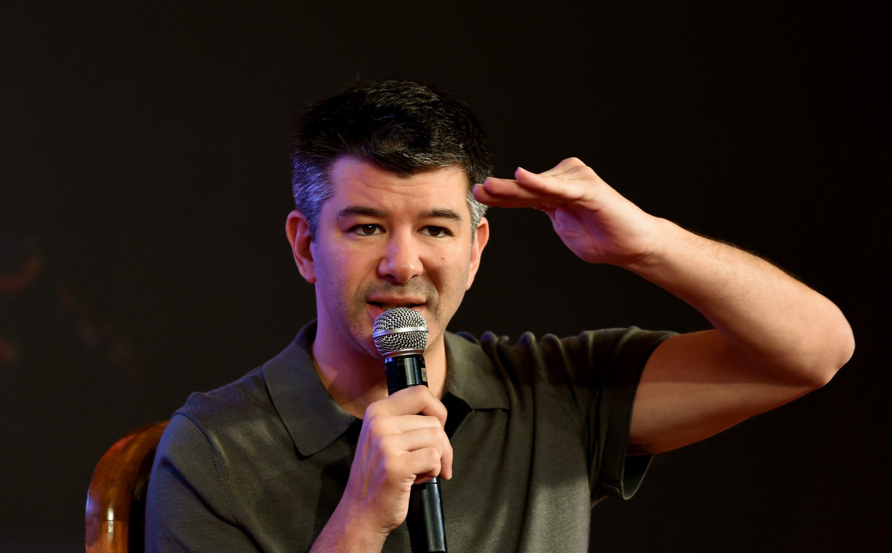 Travis Kalanick walked away with $1.4 billion from a deal with Softbank.