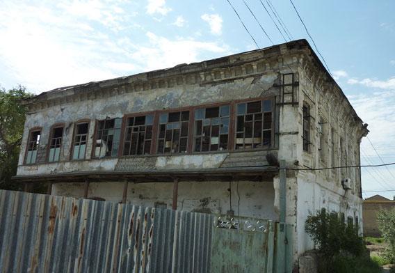 A slum district in Atyrau.