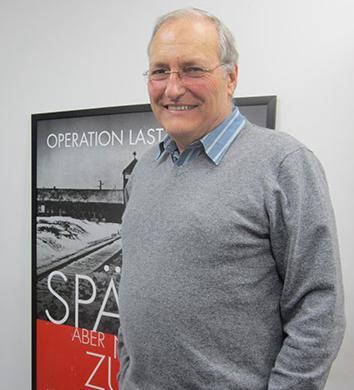 Ephraim Zuroff, November 2013.