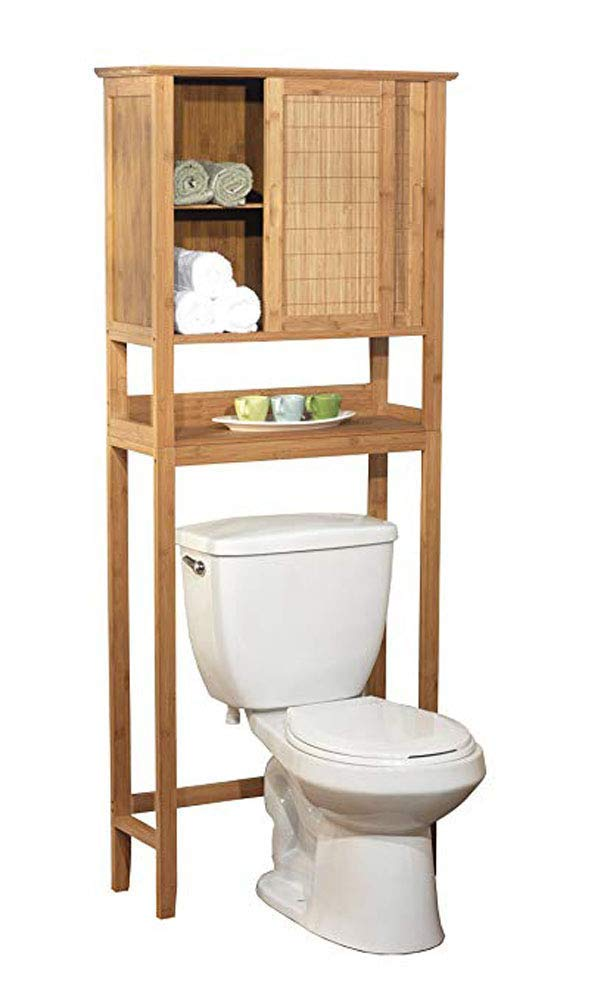Rebrilliant Over the Toilet Storage