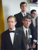 William H. Macy and Joshua Jackson star in Bobby.
