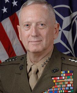 Gen. James Mattis. Click to view expanded image.