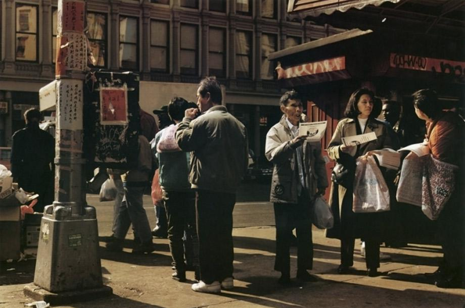 Philip-Lorca Dicorcia_New York, 1993. Estimated between $12,784 and $19,176.