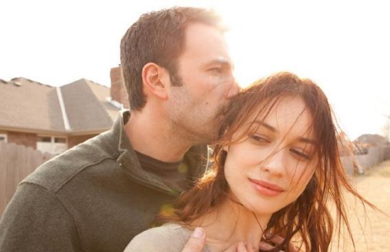 Neil (Ben Affleck) and Marina (Olga Kurylenko) in To the Wonder