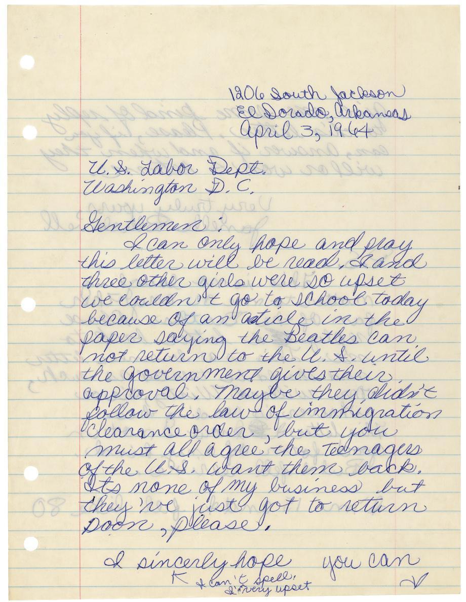Janelle Blackwell letter