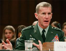 General Stanley McChrystal. Click image to expand.