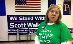 Volunteer at a Scott Walker Victory Center.
