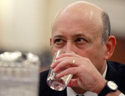 Lloyd Blankfein, CEO of Goldman Sachs. Click image to expand.