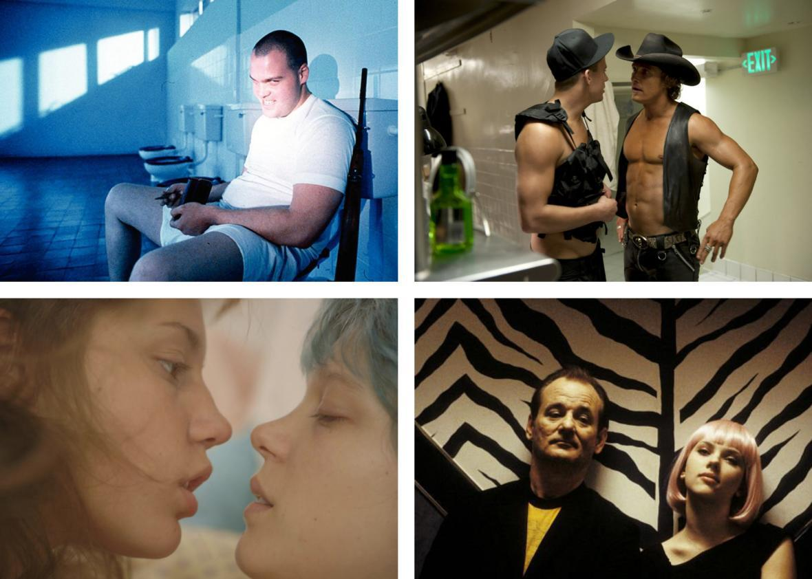 Full Metal Jacket, Magic Mike, Blue Is the Warmest Color, and Lost in Translation
