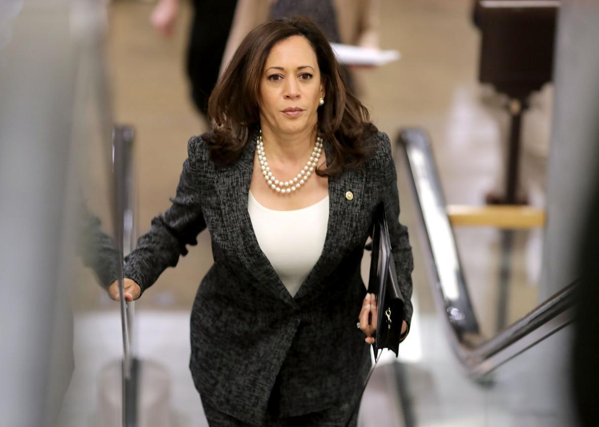Kamala Harris Got Shushed And Became A Hero Do Liberals Want To Hear What She Has To Say