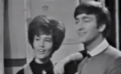 Helen Shapiro and John Lennon on Ready, Steady, Go!