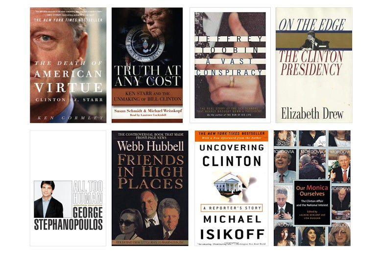 The eight books used most in researching Slow Burn.