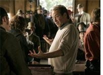 David Milch, on the set of Deadwood          Click image to expand.