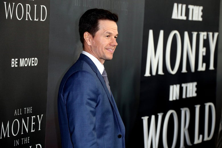 """Mark Wahlberg attends the premiere of """"All The Money In The World."""""""