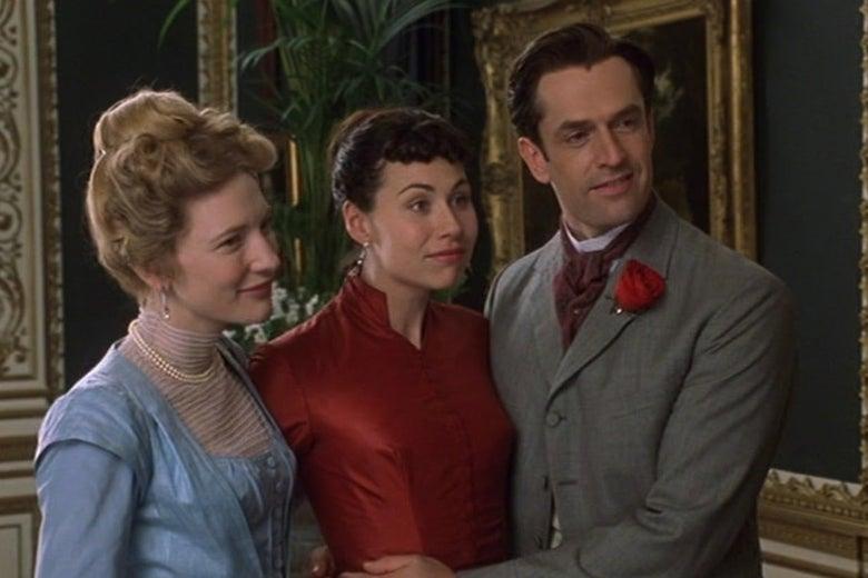 Cate Blanchett, Minnie Driver, and Rupert Everett.
