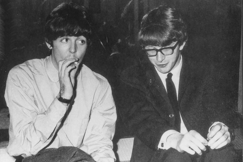 Paul McCartney and Peter Asher.