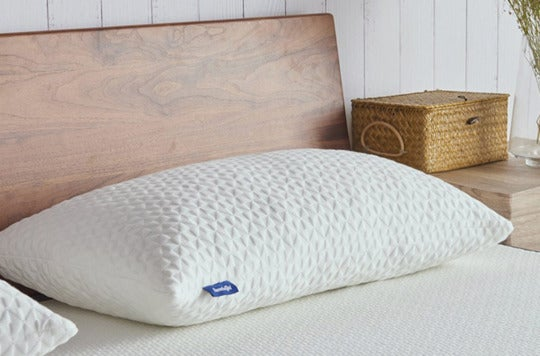 Sweetnight Adjustable Loft & Neck Pain Relief Memory Foam Pillow With Removable Case.