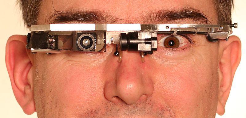 Steve Mann's EyeTap.