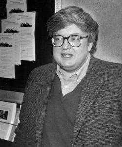 Denver Center Cinema Film Critic Roger Ebert, April 9, 1987.