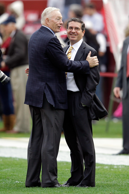 Jerry Jones and Daniel Snyder