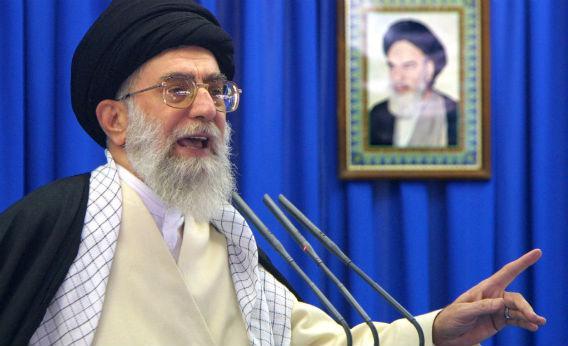 Ayatollah Alie Khamenei.