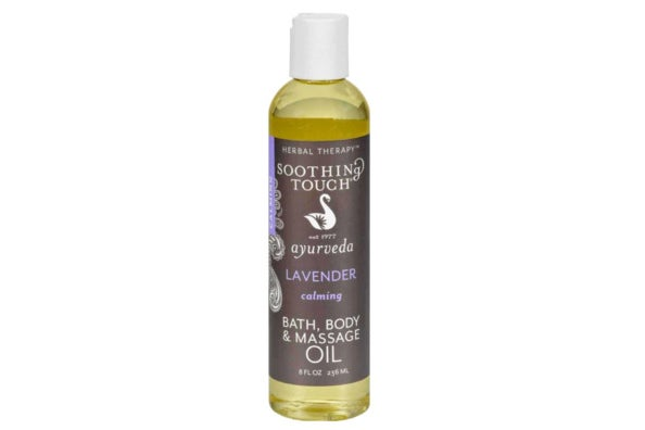 Soothing Touch Lavender Bath and Body Oil.