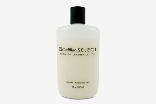 Cadillac leather lotion cleaner and conditioner.