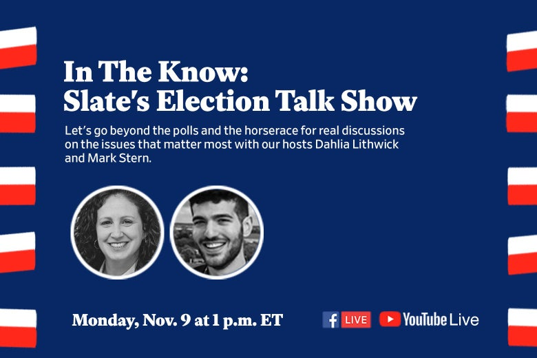 Event description for in the know post election show