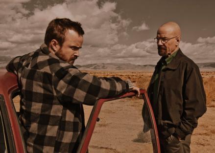 Jesse Pinkman and Walter White