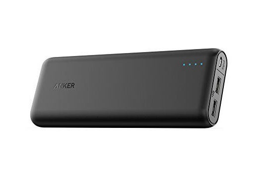 Anker portable charger.