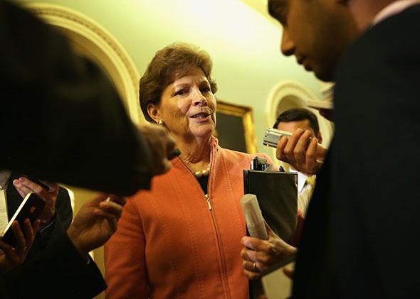 U.S. Sen. Jeanne Shaheen (D-NH).