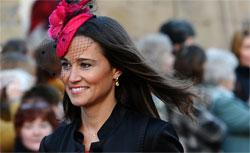 Pippa Middleton, the sister of Kate Middleton. Click image to expand.
