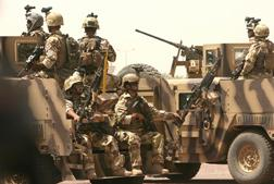 Soliders in Bagdad, Iraq. Click image to expand.