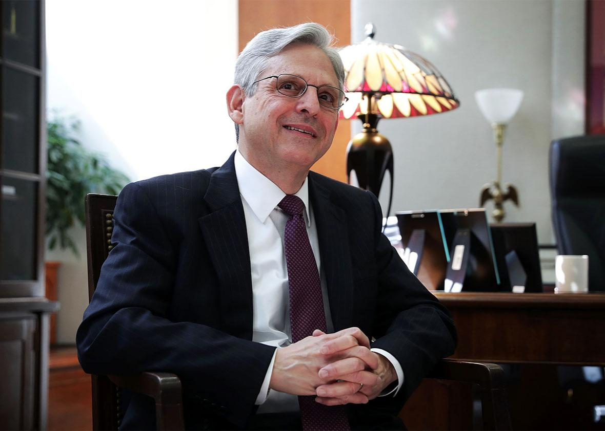 U.S. Supreme Court nominee Merrick Garland.
