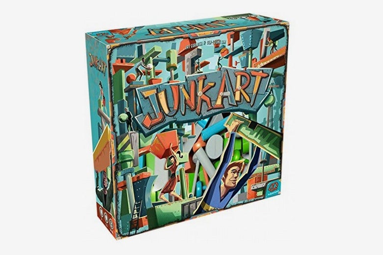 Junk Art Board Game: Plastic Edition
