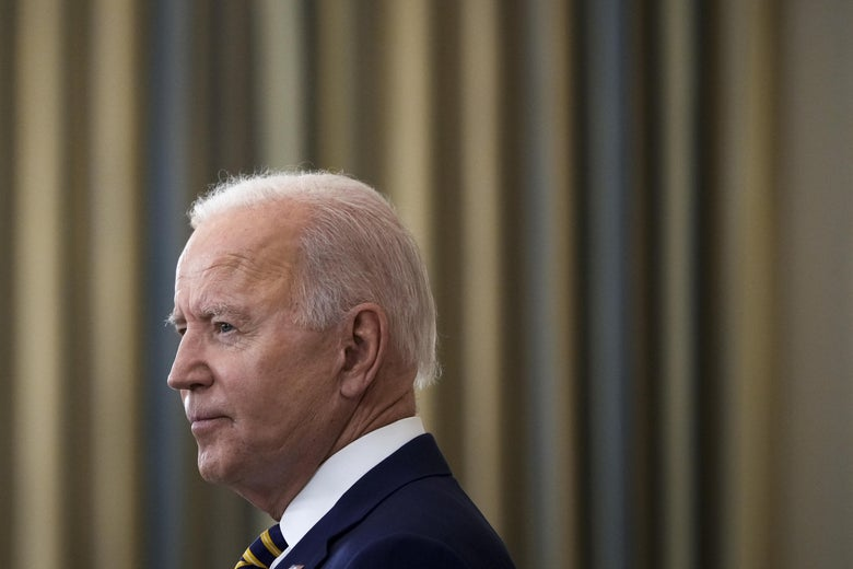 President Joe Biden speaks about the nation's COVID-19 response and the vaccination program in the State Dining Room of the White House on June 18, 2021 in Washington, D.C.