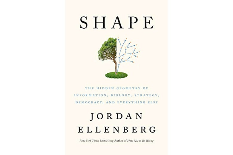 The cover of Jordan Ellenberg's book Shape