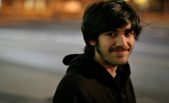 Aaron Swartz at the Chaos Communication Congress 23C3 in December 2006, in Berlin, Germany.