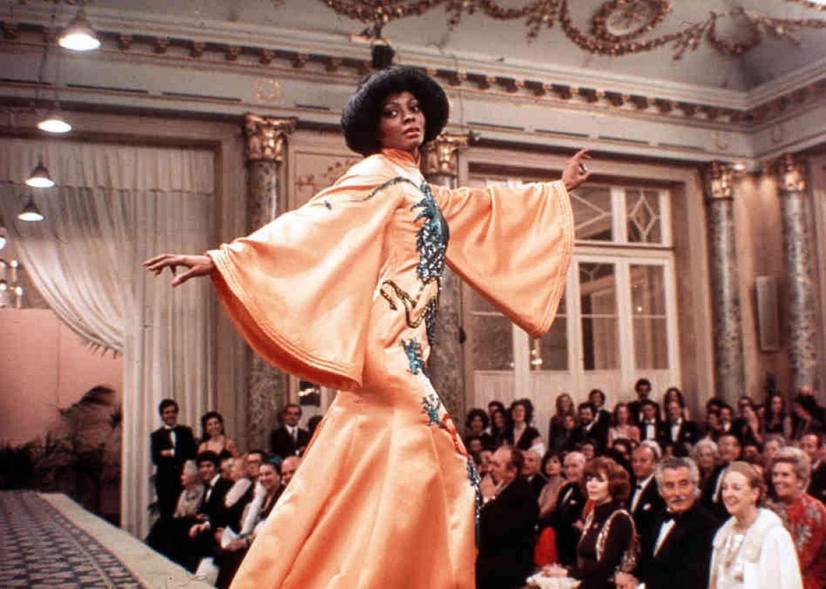 Diana Ross in Mahogany.