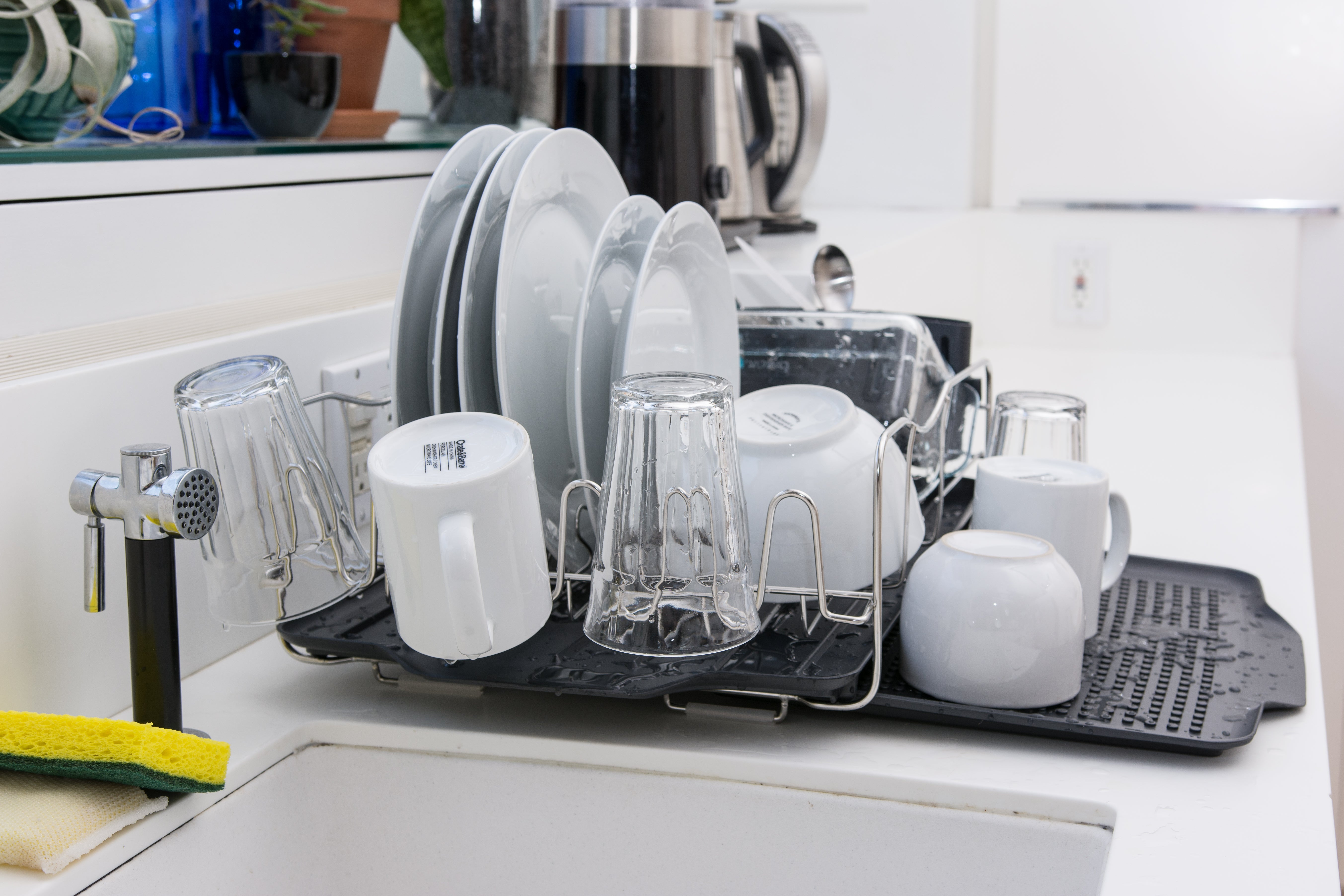 dishes in the Polder