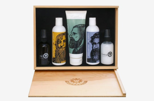 Beardsley in the Box Beard Care Gift Set.