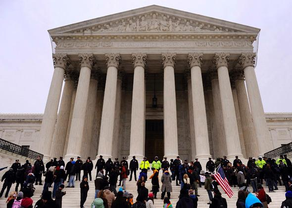 Occupy the Courts against the Citizens United ruling