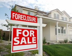 A foreclosure sign. Click image to expand.