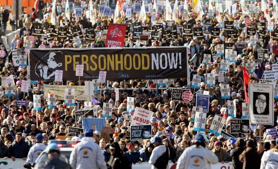 Personhood march.