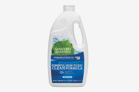 Seventh Generation Dishwasher Detergent Gel.