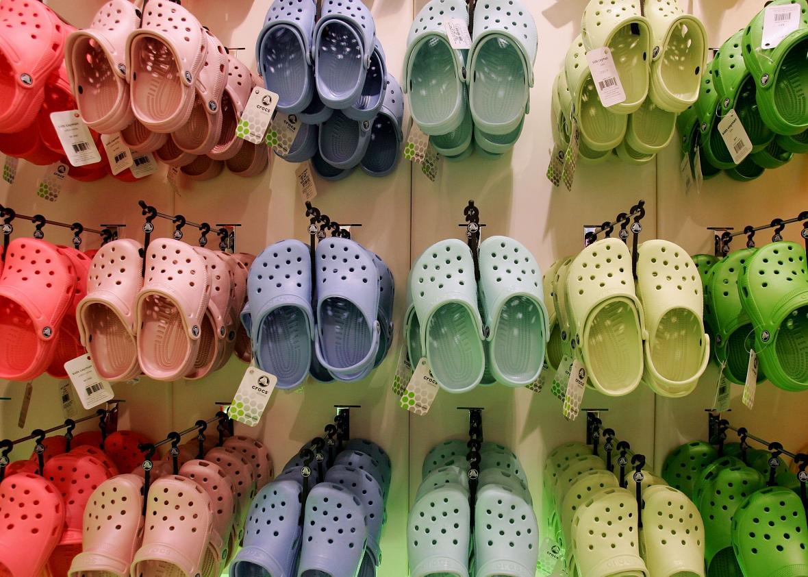 "328bf0c7d Crocs Have Inexplicably Become a Fashion ""Trend"" of 2017"