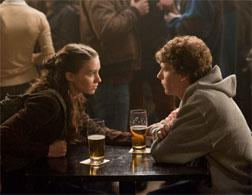 Rooney Mara and Jesse Eisenberg in The Social Network. Click image to expand.