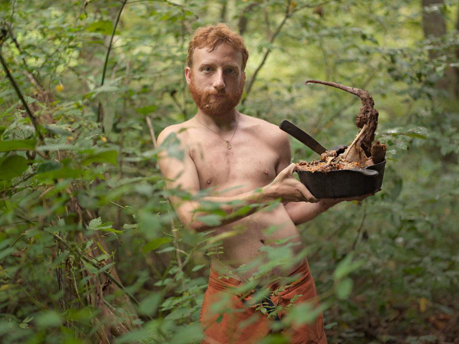 Lucas Folgia, Acorn with Possum Stew, Wildroots Homestead, North Carolina, 2006, chromogenic print. Courtesy the artist.